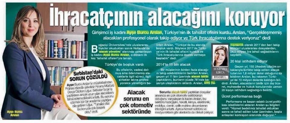 ars danışmanlık bugün gazetesi